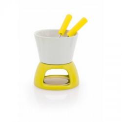 Ceramiczny zestaw do fondue