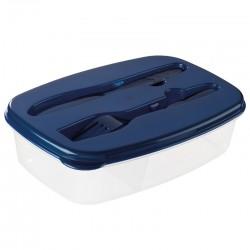 Plastikowy pojemnik ze sztućcami Matino