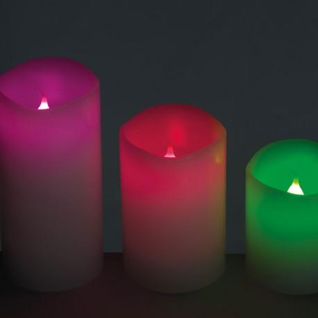 Zestaw świeczek LED Dudley