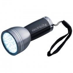 Metalowa latarka LED 28-diodowa  Rogers
