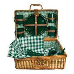 """Koszyk piknikowy """"South Carolina"""" z rattanu"""