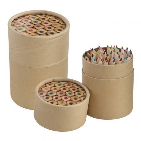 Zestaw kolorowych kredek