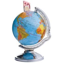 Skarbonka w kształcie globusa