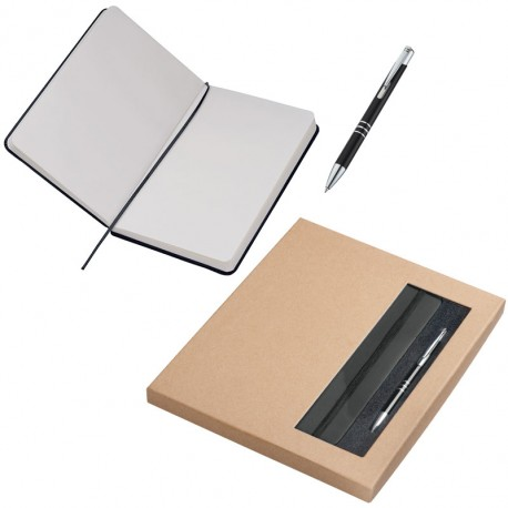 Zestaw notes A5 i długopis Norderstedt