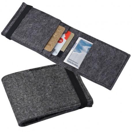Etui na karty kredytowe z gumką