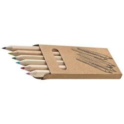 Drewniane kredki Mini