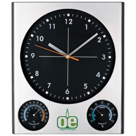 Plastikowy zegar ścienny Amsterdam