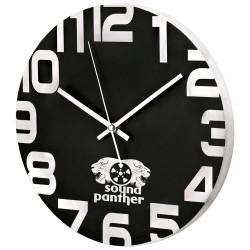 Metalowy zegar Babylon